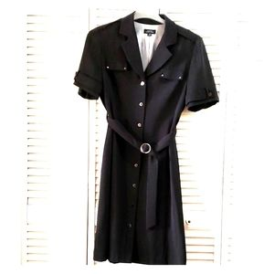 Tahari pinstripe dress size 14